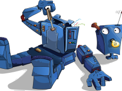 Wie sieht es bei Robot-World mit der Beschaffung von Ersatzteilen, bzw. Zubehör aus?-