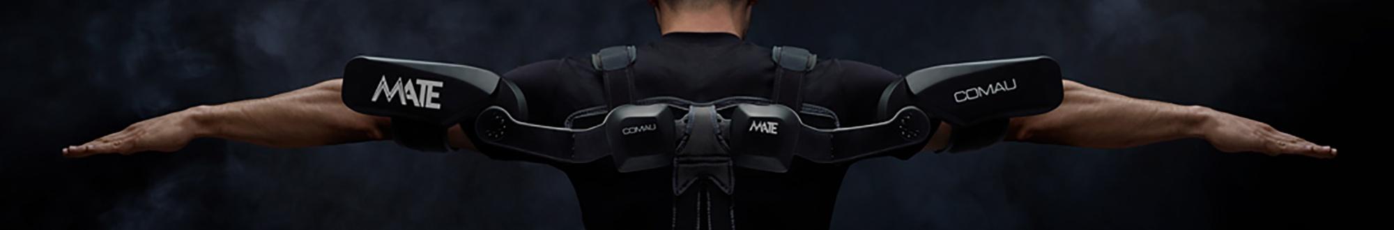 MATE - Das Exoskelett von COMAU-