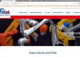 14.01.2019 - Der neue Webauftritt von RWA Robot-World AUSTRIA geht online-